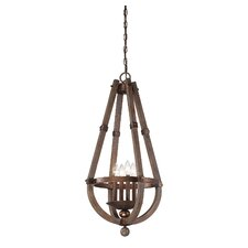 Berwick 4 Light Entry Foyer Pendant