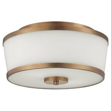 Hagen 2 Light Flush Mount