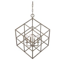 Halston 4 Light Mini Pendant