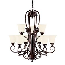 Brandywine 9 Light Chandelier