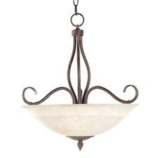 <strong>Savoy House</strong> Bryce 3 Light Inverted Pendant