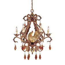 Rabun 6 Light Chandelier