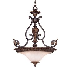 <strong>Savoy House</strong> Cordoba 3 Light Inverted Pendant
