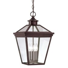 Ellijay 4 Light Outdoor Hanging Lantern