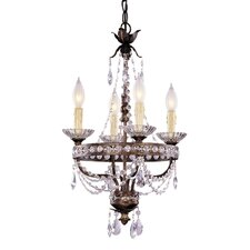 <strong>Savoy House</strong> 4 Light Mini Chandelier