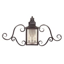 Monte Grande 3 Light Outdoor Wall Lantern