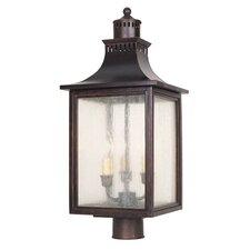 Monte Grande 3 Light Post Lantern