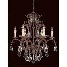 Provenciale 6 Light Chandelier