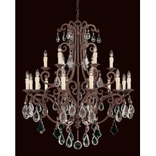 <strong>Savoy House</strong> Provenciale 18 Light Chandelier