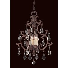 <strong>Savoy House</strong> Provenciale 4 Light Mini Chandelier