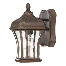 <strong>Savoy House</strong> Realto 1 Light Outdoor Wall Lantern