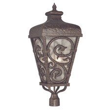 Spaniard 3 Light Post Lantern