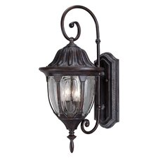 Augusta 2 Light Outdoor Wall Lantern