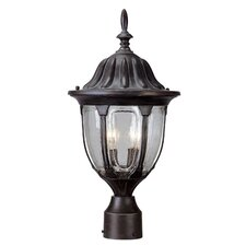 Tudor 2 Light Post Lantern