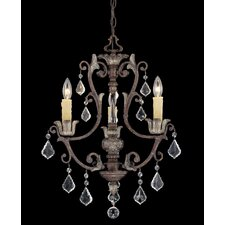 <strong>Savoy House</strong> Elizabeth 3 Light Chandelier