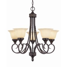 Keystone 5 Light Chandelier