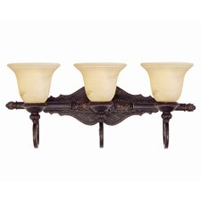 <strong>Savoy House</strong> Knight 3 Light Bath Vanity Light