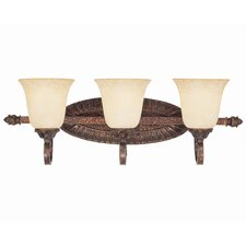 <strong>Savoy House</strong> Rue De Ville 3 Light Bath Vanity Light