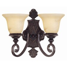 Ladoga 2 Light Wall Sconce