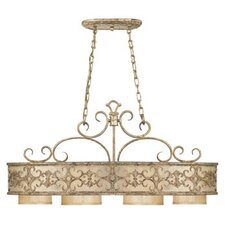 Savonia 4 Light Oval Chandelier