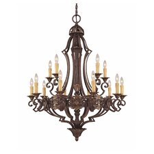 <strong>Savoy House</strong> Southerby 15 Light Chandelier