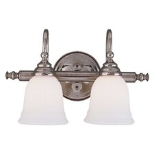 <strong>Savoy House</strong> Brunswick 2 Light Bath Vanity Light
