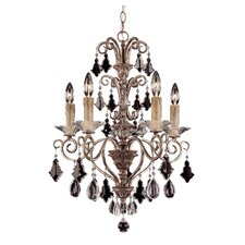 Antoinette 5 Light Mini Chandelier
