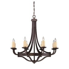 Elba 8 Light Chandelier