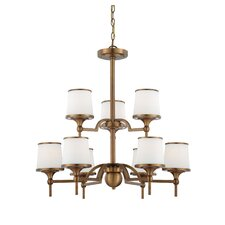 <strong>Savoy House</strong> Hagen 9 Light Chandelier