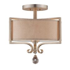 Rosendal 2 Light Semi Flush Mount