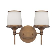 <strong>Savoy House</strong> Hagen 2 Light Bath Vanity Light