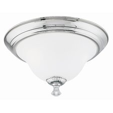 Pour Le Bain 3 Light Flush Mount