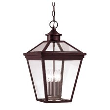 Ontario 4 Light Outdoor Hanging Lantern