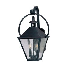 Candlewood 2 Light Outdoor Wall Lantern