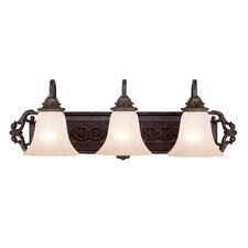 <strong>Savoy House</strong> Cordoba 3 Light Vanity Light