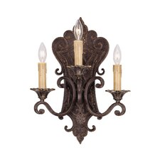 Southerby 3 Light Wall Sconce