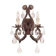 Reed 2 Light  Wall Sconce