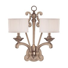 Mallard 2 Light Wall Sconce