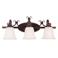 <strong>Savoy House</strong> Brandywine 3 Light Vanity Light