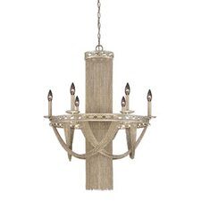 Castello 6 Light Chandelier
