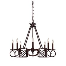 Harmony 8 Light Chandelier