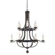 <strong>Savoy House</strong> Alsace 12 Light Chandelier