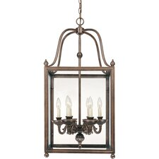 <strong>Savoy House</strong> Crabapple 6 Light Foyer Pendant