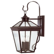 Ontario 4 Light Outdoor Wall Lantern