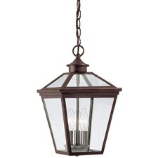 Ontario 3 Light Outdoor Hanging Lantern