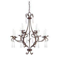 <strong>Savoy House</strong> Rochella 12 Light Chandelier