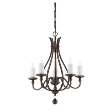 Whitcomb 5 Light Chandelier