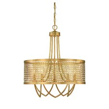 Fairview 5 Light Drum Chandelier