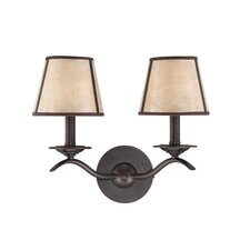Kennebec 2 Light Wall Sconce