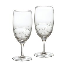 Ballet Ribbon Essence Iced Beverage Glass (Set of 2)